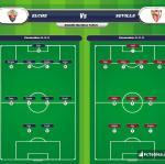 Lineup image Elche - Sevilla