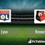 Preview image Lyon - Rennes