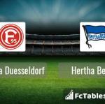 Preview image Fortuna Duesseldorf - Hertha Berlin