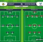 Lineup image Burnley - Crystal Palace