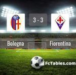 Match image with score Bologna - Fiorentina