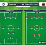 Lineup image Brighton - Sheffield United