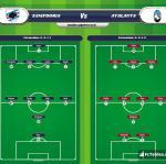 Lineup image Sampdoria - Atalanta