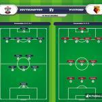 Lineup image Southampton - Watford