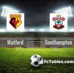 Preview image Watford - Southampton