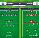 Lineup image Brighton - Leicester