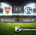 Match image with score VfB Stuttgart - Schalke 04