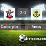 Match image with score Southampton - Burnley