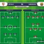 Lineup image Sevilla - Barcelona