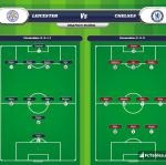 Lineup image Leicester - Chelsea