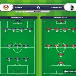 Lineup image Bayer Leverkusen - Freiburg