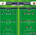 Lineup image Osasuna - Barcelona