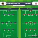 Lineup image Wolverhampton Wanderers - Liverpool