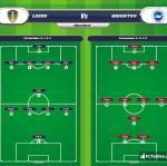 Lineup image Leeds - Brighton