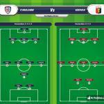 Lineup image Cagliari - Genoa