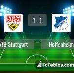 Match image with score VfB Stuttgart - Hoffenheim