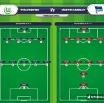 Lineup image Wolfsburg - Hertha Berlin