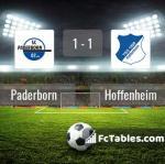Match image with score Paderborn - Hoffenheim
