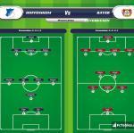 Lineup image Hoffenheim - Bayer Leverkusen