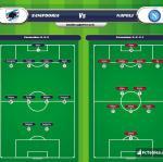 Lineup image Sampdoria - Napoli