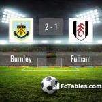 Match image with score Burnley - Fulham