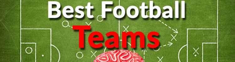 "Best football teams - Description of section \""Teams\"""