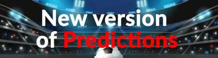 Predictions - Upgrade to version 1.6