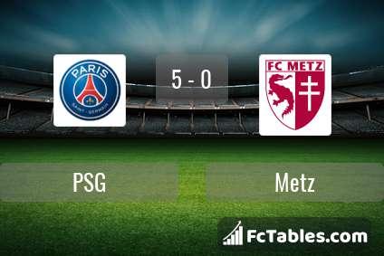 Preview image PSG - Metz