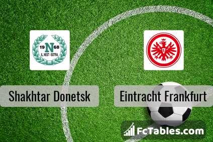 Preview image Shakhtar Donetsk - Eintracht Frankfurt