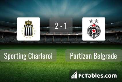 Anteprima della foto Sporting Charleroi - Partizan Beograd
