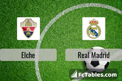 Preview image Elche - Real Madrid