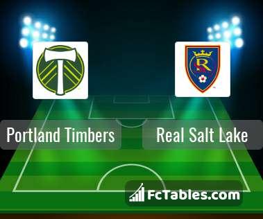 Preview image Portland Timbers - Real Salt Lake
