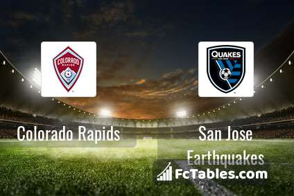 Preview image Colorado Rapids - San Jose Earthquakes