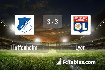 Podgląd zdjęcia Hoffenheim - Olympique Lyon