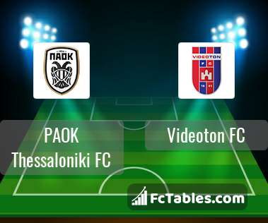 Preview image PAOK Thessaloniki FC - Videoton FC