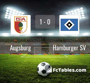 Preview image Augsburg - Hamburger SV