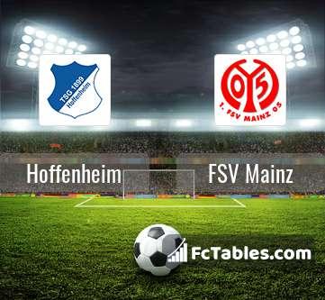 Preview image Hoffenheim - FSV Mainz