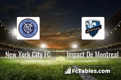 Preview image New York City FC - Impact De Montreal