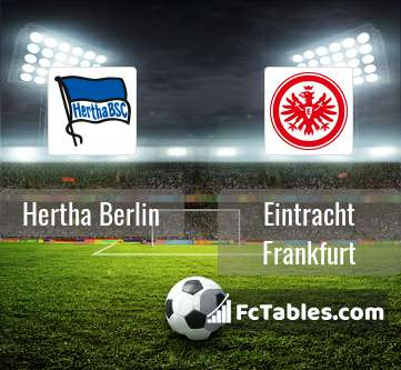 Podgląd zdjęcia Hertha Berlin - Eintracht Frankfurt