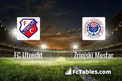 Podgląd zdjęcia FC Utrecht - Zrinjski Mostar