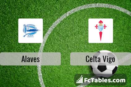 Alaves vs celta vigo h2h 3 feb 2018 head to head stats predictions - Celta vigo fc league table ...