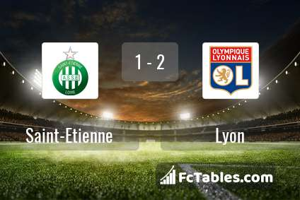 Preview image Saint-Etienne - Lyon