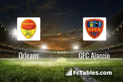 Orleans GFC Ajaccio H2H