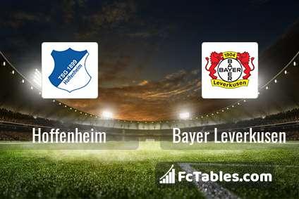 Podgląd zdjęcia Hoffenheim - Bayer Leverkusen