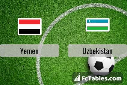Preview image Yemen - Uzbekistan
