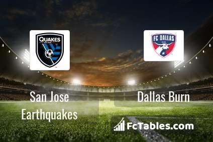 Preview image San Jose Earthquakes - Dallas Burn
