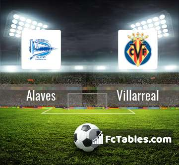 Preview image Alaves - Villarreal