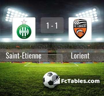 Preview image Saint-Etienne - Lorient