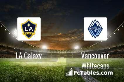 Preview image LA Galaxy - Vancouver Whitecaps