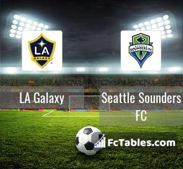 Preview image LA Galaxy - Seattle Sounders FC